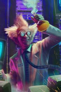 2160x3840 Mad Scientist