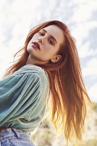1440x2560 Madelaine Petsch Elite Daily Photoshoot 2019