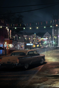 480x800 Mafia 3 Artwork 5k