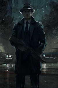 480x854 Mafia 3 Artwork