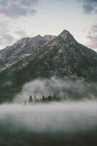 Majestic Mountains By Lake 5k