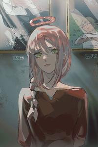 540x960 Makima Chainsaw Man Anime Girl