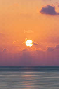 540x960 Maldive Islands Sunrise 5k