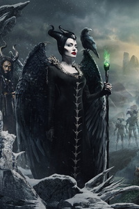 480x854 Maleficent Mistress Of Evil 4k New