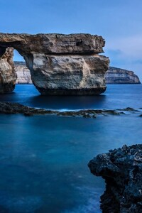 Malta Rock Sea Coast