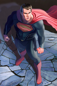 Man Of Steel 5k Artwork