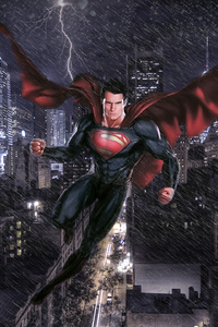Man Of Steel Art