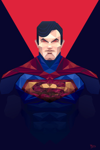 Man Of Steel Minimalism 4k