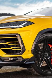 Manhart Lamborghini Urus 800 2019 Front