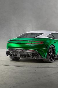 Mansory Aston Martin DB11 Rear View 4k