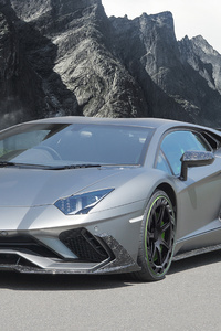 Mansory Lamborghini Aventador S 2018 4k