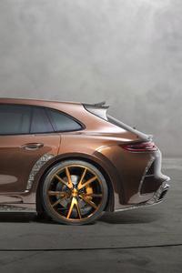 Mansory Porsche Panamera Sport Turismo Side View 4k