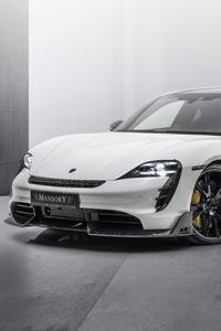 480x800 Mansory Porsche Taycan Turbo S 2021