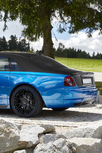 480x800 Mansory Rolls Royce Ghost 2021