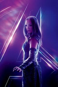 1280x2120 Mantis In Avengers Infinity War 8k Poster