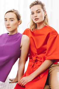 1440x2960 Margot Robbie And Saoirse Ronan