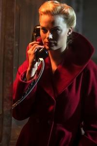 1242x2688 Margot Robbie As Annie In Terminal