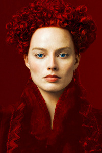 Margot Robbie As Elizabeth In Mary Queen Of Scots Movie