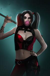 1280x2120 Margot Robbie Harley Quinn 4k 2020