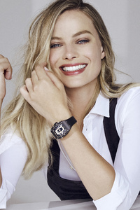640x1136 Margot Robbie Richard Mille Campaign 2019