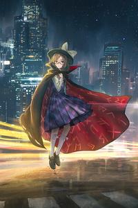 750x1334 Maribel Hearn Renko Usami Sumireko Usami 4k