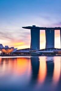 640x960 Marina Bay Singapore