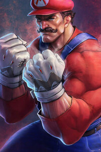 240x400 Mario Art