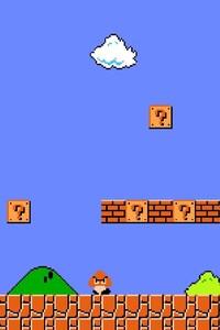 1080x2280 Mario Game