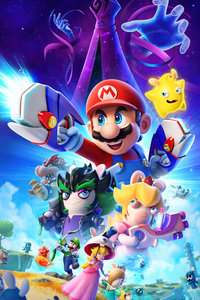1080x2280 Mario Rabbids Sparks Of Hope