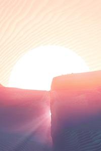 Mars Abstract 4k