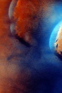 Mars Abstract 5k