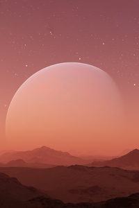 640x960 Mars Planet 5k