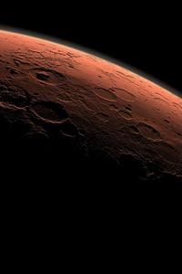 Mars Planet View 4k