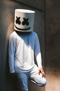 240x320 Marshmello Alone