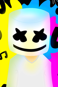 Marshmello Colorful 5k