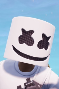 Marshmello In Fortnite 4k