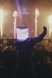 Marshmello Live Audience