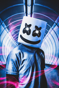 1440x2960 Marshmello New Hopes 4k