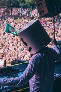 Marshmello Performing At Music Festival 5k