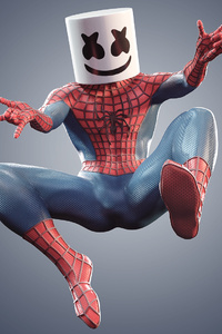 Marshmello Spiderman