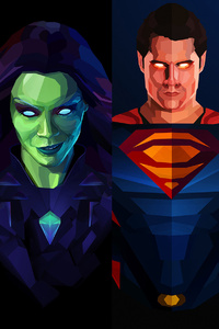 Marvel And Dc Artwork