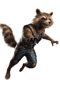 Marvel Avengers 4 Rocket Raccoon