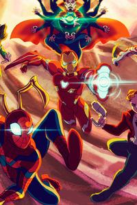240x320 Marvel Avengers Infinity War