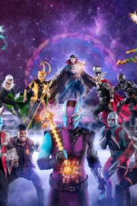 Marvel Avengers Superheroes Cosplay