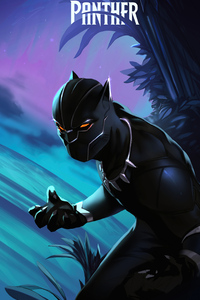 Marvel Black Panther 2020 4k