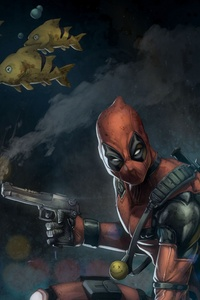 Marvel Deadpool Artwork