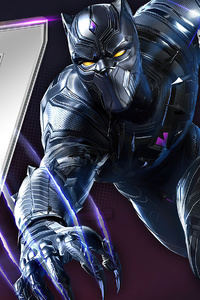 240x320 Marvel Duel Black Panther
