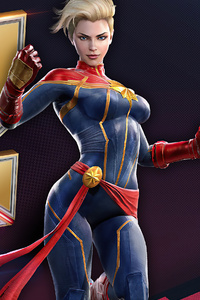 Marvel Duel Captain Marvel