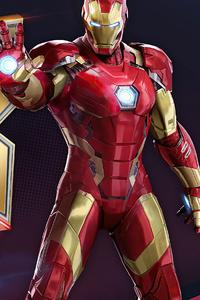 640x1136 Marvel Duel Iron Man