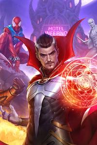 800x1280 Marvel Future Fight 2020 4k